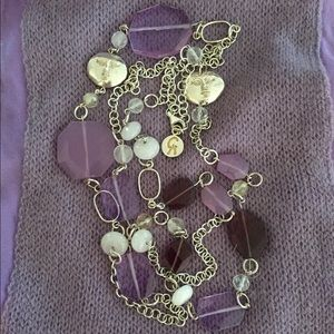 Jewelry - AMETHYST/Gemstones 925 MEX Marked Silver Necklace